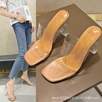 Sandals Bonjean Shoes Slipper PU Leather Women's Sandal Flat Casual Slides Summer Outdoor Beach Female Flip Flops