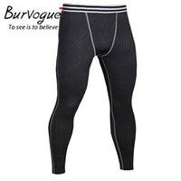 Men's Sleepwear Burvogue Thermal Underwear Sets Men Long John Brand Quick Dry Anti-microbial Stretch Thermo Male Warm Johns