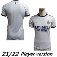 Spielerversion Real Madrid Mbappe Trikots 22 21 Fussball Jersey Hazard Sergio Ramos Benzem Vinicius Camiseta Football Hemden Uniformen Männer 2022 2021