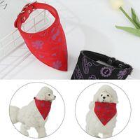 Dog Collars & Leashes Washable Triangular Bandage Party Neck Decor Bandanas Pet Scarf Cat Bibs Puppy Kerchief