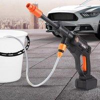 غسالة السيارة 70BAR ارتفاع ضغط 20000mAh الذاتي فتاد الحفاظ على 80min غسل غسل الأطلقة مدفع المياه مع بطارية ليثيوم أيون 220 فولت