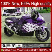 Carrosserie de moto pour BMW K 1200 K1200 S 1200S 2005 2006 2007 2006 2009 2010 Body NOUVELLE PURPLE 28NO.85 K1200-S K-1200S 05-10 K1200S 05 06 07 08 09 10 Catégorie de citerne