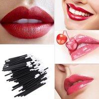 2021 Nuovi spazzole per il trucco Lipbrush Spazzole per il labbro cosmetico usa e gettabino lucido bacchetta bacchetta applicatore trucco spazzola per utensili Brushclear
