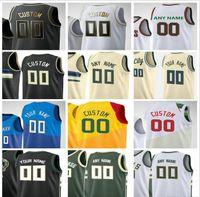 مخصص المطبوعة راي 34 ألين كرة السلة الفانيلة أوسكار 1 روبرتسون جلين 13 روبنسون 42 فين بيكر الرجال امرأة أطفال الشباب قميص