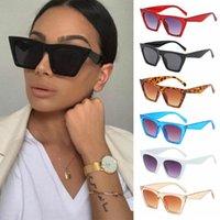 Outdoor Eyewear Fashion Square Sunglasses Women Designer Luxury Man Cat Eye Sun Glasses Classic Vintage UV400 Protection