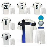 فنلندا 2021-2022 كرة القدم 10 Teemu Pukki Jersey Set 9 فريدريك جينسن بيري سويري تيم سبارف جوفي أوجالا جويل بوهجانبالو لكرة القدم