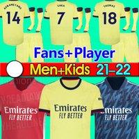 مانشستر 2021 2022 Soccer Jerseys United Bruno Fernandes Cavani Utd Pogba Rashford Football CHirt 20 21 22 رجل + أطفال كيت الهرومات الرابعة