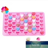 Mini Heart Mold Silicone Ice Cube Tray DIY Chocolate Fondant Mould 3D Pastry Jelly Cookies Baking Cake Decoration Tools
