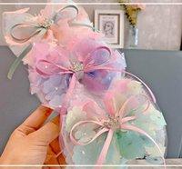 Filles accessoires de cheveux accessoires chevrons barrettes barrettes pour enfants fleur de dentelle princesse couronne bébé bb clip