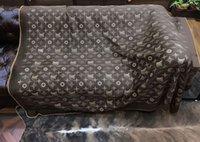 Letra Cashmere imitação de lã macia lenço de lã xale portátil portátil mamífero sofá cama lã de malha throw throwell capa cor-de-rosa cobertores