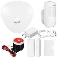 SMART HOME HOME 2.4G WIFI Système d'alarme sans fil + 720p Moniteur de la caméra IP Kits de sécurité Systèmes d'intérieur