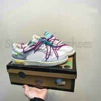 Dunks Low Gentile Estate Il 50 delle scarpe sportive 05 Collezione Sail Bianco Nero Rosa Blu Arancione 20 Uomo Donne Off Sport Sneakers Scarpa all'aperto