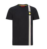 Personnalisable F1 Formula 1 Racing Costume T-shirt Ventilateur de voiture Culture rapide Dry Manches courtes
