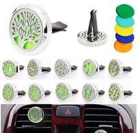 Aromatherapy House Эфирное масло Диффузор для автомобильного воздуха Освежитель парфюмерных Футболтена с 5шт моющиеся войлочные колодки