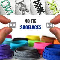 الكون لا التعادل أربطة أربطة ملونة مرنة أقواس الفولاذ المقاوم للصدأ ربط نظام أربطة الحذاء للبالغين والاطفال واحد الحجم يناسب الجميع