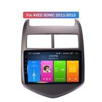 Wholesale FM / Bluetooth / USB / SD / MP3 / MP5 / VIDEO 2 DIN CAR DVD Player 8 pulgadas Estéreo MP5 para Chevrolet Aveo Sonic 2011-2013 con pantalla táctil