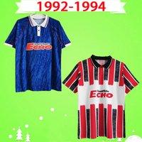 1992 1993 1994 Cardiff Home Blue Blue Ретро Футбол Футбол Урожай Классический Человек Футбол Рубашки Город Уэльс 90 91 92 93 Размер S-XXL Красный