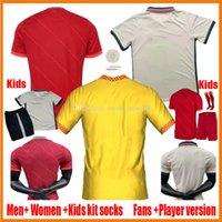 2021 2022 Futbol Forması Hayranları Oyuncu Sürüm Erkekler Kadınlar Çocuklar 20 21 22 Kulübü Futbol Gömlek 2021-22 2020-21 Ladys Kız Formalar Çocuk Çocuk Boş Üniforma Kitleri Özelleştirmek