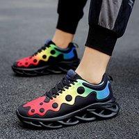 Casual Ayakkabılar Mjit Yeni Moda Bıçak Alt erkek Rahat Spor Ayakkabı Rahat ve Nefes Açık Büyük Fitness Öğrenci Erkekler için TCYS