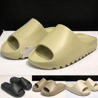 Espuma ósea deslizador engranajes fondos para hombre deslizamiento rayas sandalias desierto arena causal antideslizante verano zapatillas flip flops 36-45