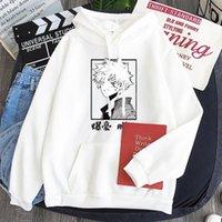 Women's Hoodies & Sweatshirts Print Winter Women Thick Hoodie Fleece Long Sleeve Sweatshirt Hip Hop Street Pocket Cool All-Match Loose Cloth