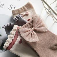 Socks Cotton Baby Short 5 Pairs Toddler Boys Girls Summer Mesh Thin Sock Kids Children Colorful For 0-8Y