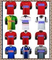 رجل 07 07 07 90 92 United Retro UCL Final Match UTD Home Manchester Jersey 1994 1998 1984 United Ronaldo Beckham Cantona Keane Scholes Giggs JE