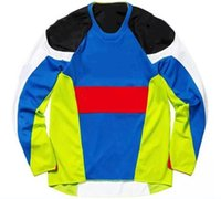 2021 Custom Logo Co-Brand Drop Drop T-shirt Long-Road Long T-shirt Moto Costume DH Mountain Vélo Suit Plus Taille Taille Casual Top