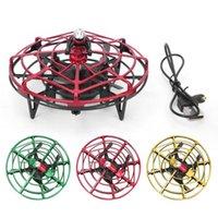 Мини-летающий беспилотный игрушка волшебный жест жест чувствительный контроль вертолет инфицированные индукционные самолеты квадрокоптер игрушки дронов