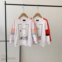 Marke Kids Hoodies Kinder Sweatshirts Herbst Pullover Doppel G Druckdesign Kleider Langarm T-shirts Wear Größe 110-150