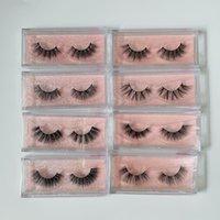 16 styles 3D Mink Eyelashes Eye makeup False Eyelash Soft Natural Thick Fake Lashes with packaging box