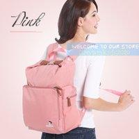 Mochila de excursiones de moda para mujeres, bolsas de pañales, bolso de moda, bolso de mami de gran capacidad multifuncional.6 Colors.Only 0.65kg