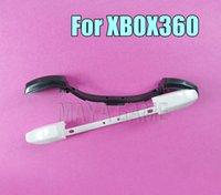 استبدال LB RB زر الزناد الجزء الأسود الأبيض ل xbox360 xbox 360 تحكم أزرار الوفير
