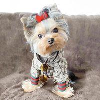 트렌드 편지 인쇄 디자인 애완 동물 코트 봄 새로운 windproof puppy 재킷 슈나우저 bichon 테 디 개 옷