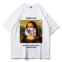 Estate 2020 marea T-shirt maschio Maglietta divertente Mona Lollipop T-Shirt T-shirt Multi-Colored Stampa Cotton Fashion Tshirt Manica corta Manica corta Topstees