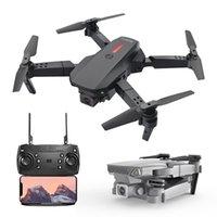 Mini-Kamera Global Drohne Vehiclenew E88 Modell UAV 4K HD Duale Aerial Kamera Vierachse Falten Fernbedienung Flugzeuge Normalfaltbare Profis