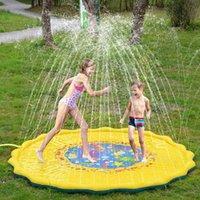 170 cm Bambini Gioco Tappetini Gommone Gonfiabile Outdoor Pad Gonfiabile Acqua Fun Spacciata Spruzzata Splash Tappetini per acqua Piscina per bambini