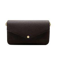 2021 дизайнерские сумки на плечо женщины цепь мини поперечины сумка цветочные буквы натуральная кожа высокого качества кошелек сумки