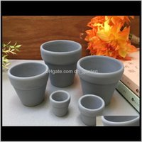 Plantadores Suprimentos Pátio, Gramado Drop Drop ENTREGA 2021 Mini Terracotta Clay Cerâmica Y Plantador Cacto Flor Potenciômetros Potenciômetros Grande Gar