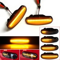 Per Stilo Panda Punto Evo Qubo Multipla Linea Idea Grande doblo Abarth Dynamic LED Segnalatore laterale Light Smoke Smoke Emergency Emergency Lights