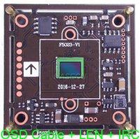 """Telecamere (1080p) AHD-H / TVI CVI (D1) CVBS 1 / 2.9 """"Sony Exmor imx323 CMOS FH8550 CCTV Camera Modulo scheda + Cavo OSD 3MP CS LEN + IRC"""