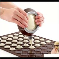 Kitchen, Home & Gardensile Pad Baking Moulds Arons Round Make Cake Mold Bakeware Tools For Kitchen Dining Bar Special Decorative Device Drop