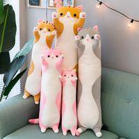 50 cm lindo gato panda koala grandes peluches animales peluches para niños niñas suave largo sueño almohada abrazos regalo de Navidad