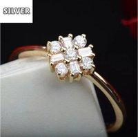 925 Anillos Silver 2021 Hot ring Japanese Luxury Light 14k Gold Inlaid Square Diamond Natural Stone Bulgaria Tanzanite Jewelry