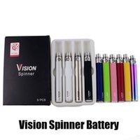 Vision Spinner Предварительная батарея 650/900/1100/1300 мАч EGO C Twistration Переменное напряжение VV Vape Pen для CE4 510 Нить Nautilus Mini Protank 3 распылитель UPS