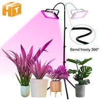 Grow Lights LED Light Phyto Lamp 220V Full Spectrum For Greenhouse Hydroponic Plants 50W 100W 200W Growing Standing Seedlings