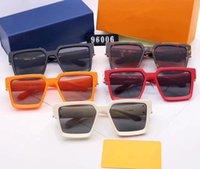 Louis Vuitton Top Qualität Sonnenbrille Männer Frauen Sonnenbrille Echt Nylon Rahmen Material Glas Linsen Männliche Sonnenbrille mit Kiste # 15