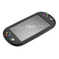 Powkiddy X16 لعبة لوحات المفاتيح المحمولة الكلاسيكية الفيديو الرجعية الألعاب اللاعبين 7 بوصة دعم الشاشة TF بطاقة ل neogeo الممرات المحمولة