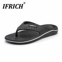Nuovo arrivo uomini infradito flip flops esterna estate scarpe da acqua designer uomini pantofole da spiaggia in spiaggia flip flop scarpe da spiaggia taglia 40 45 pompe scarpe bianco boo s6vk #