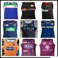 2020 Cowboys Wests Tigers Brisbane Broncos Maroons Rugby Jerseys Singlet New South Wales Blues Estado Fiji Knight Eels Colete Jersey